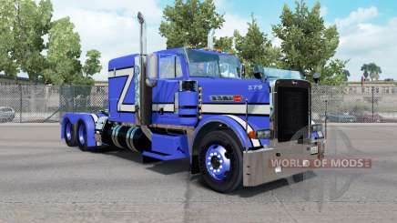 Skin Blue Rollin in the truck Peterbilt 379 for American Truck Simulator