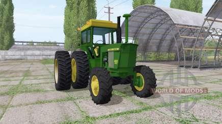 John Deere 4520 v3.0 for Farming Simulator 2017