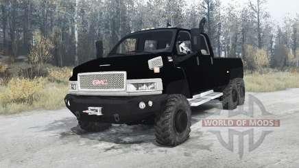 GMC TopKick C4500 pickup 6x6 for MudRunner