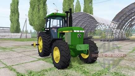 John Deere 4055 for Farming Simulator 2017
