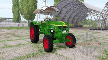 Deutz D40 4WD for Farming Simulator 2017