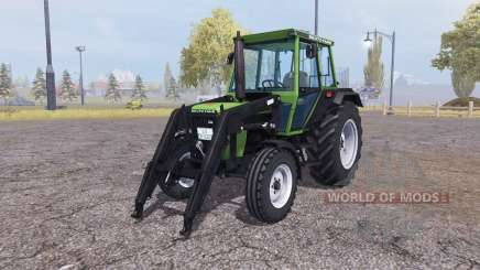 Deutz D 62 07 C front loader for Farming Simulator 2013