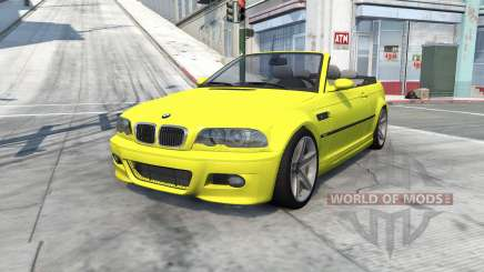 BMW M3 cabrio (E46) 2001 for BeamNG Drive