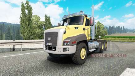 Caterpillar CT660 v2.1 for Euro Truck Simulator 2