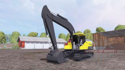 Volvo EC250D for Farming Simulator 2015