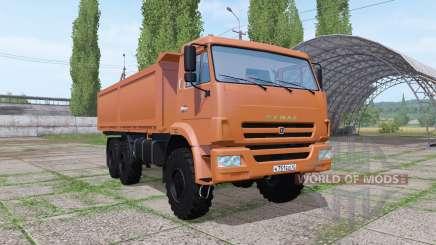 KAMAZ 43118 v1.1 for Farming Simulator 2017