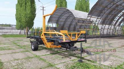 Warfama T-127 v1.1 for Farming Simulator 2017