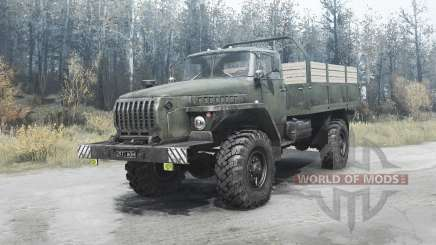 Ural 43206 v2.1 for MudRunner