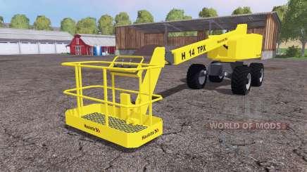Haulotte H14 TX v3.0 for Farming Simulator 2015
