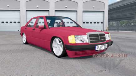 Mercedes-Benz 190 E (W201) for American Truck Simulator