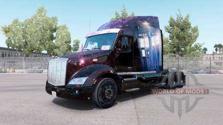 Doctor Who skin for the truck Peterbilt 579 for American Truck Simulator