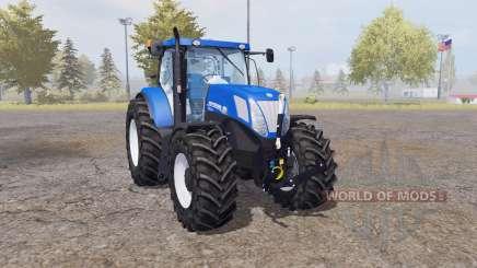 New Holland T7.220 blue power for Farming Simulator 2013