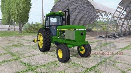 John Deere 4650 v1.2 for Farming Simulator 2017