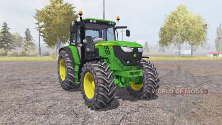 John Deere 6150M v2.0 for Farming Simulator 2013