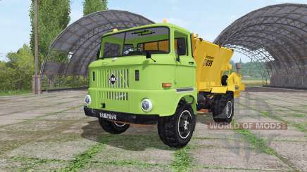 IFA W50 L fertilizer v2.0 for Farming Simulator 2017