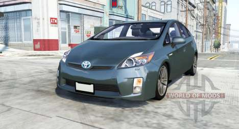 Toyota Prius (XW30) 2009 for BeamNG Drive