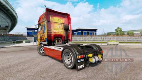 Fathom skin for DAF XF105 tractor unit.510 for Euro Truck Simulator 2