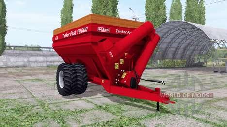 Jan Tanker Fast 19.000 for Farming Simulator 2017