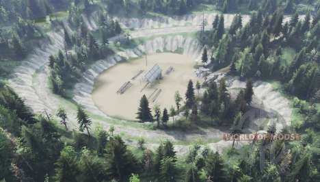 The river for Spin Tires