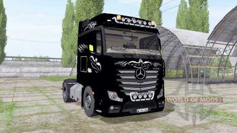 Mercedes-Benz Actros LS (MP4) 2011 for Farming Simulator 2017