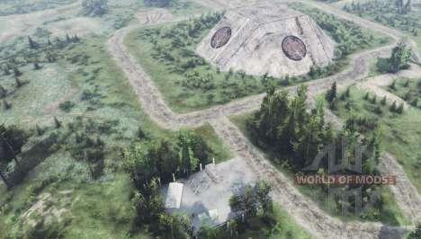 Abandoned military base v1.1 for Spin Tires