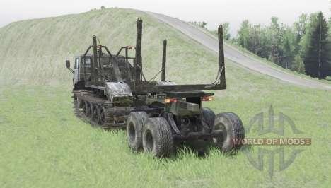 KamAZ 4310 crawler for Spin Tires