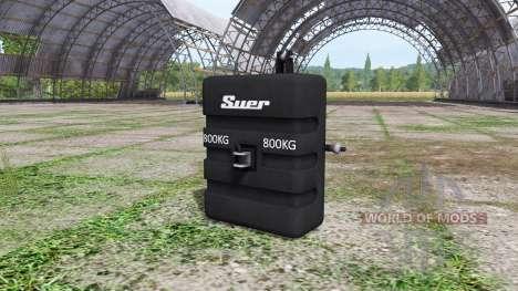 Weight Suer for Farming Simulator 2017