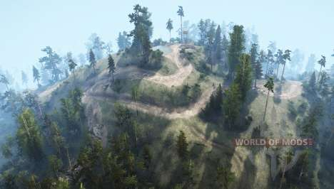 Mountain trails for Spintires MudRunner