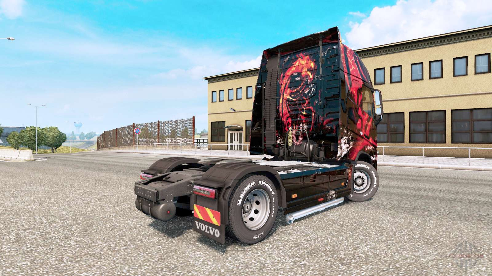 msi gaming skin for the volvo fh truck series for euro. Black Bedroom Furniture Sets. Home Design Ideas