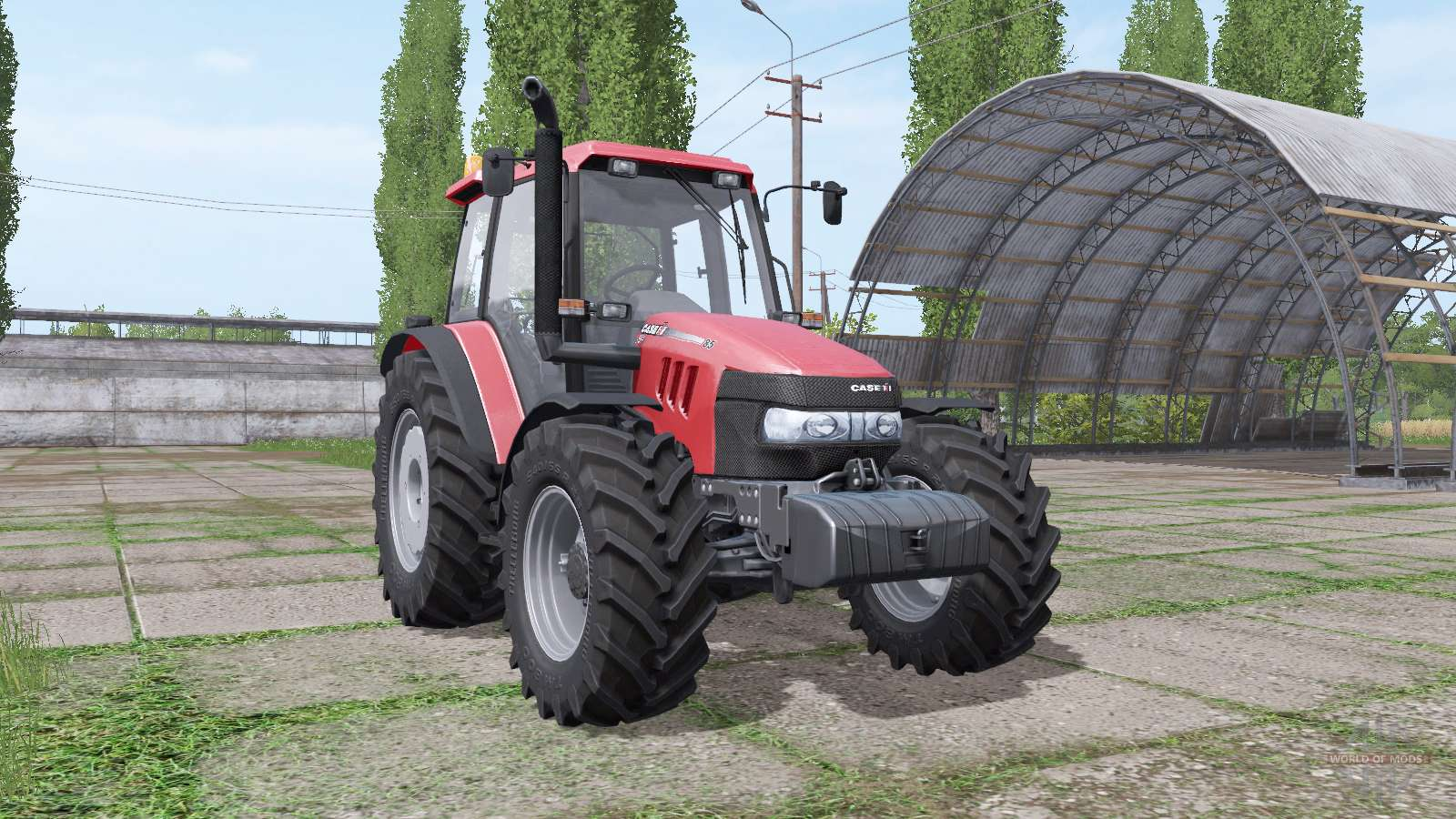 Case IH JXU 85 V1.1 For Farming Simulator 2017