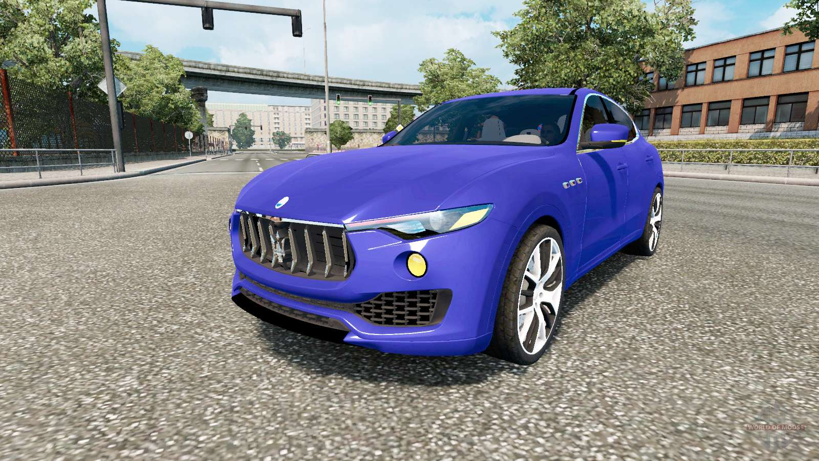 Mod Maserati Levante 2017 For Euro Truck Simulator 2 Modification Was Tested In Version 1 31 S You Can The Showroom Daf
