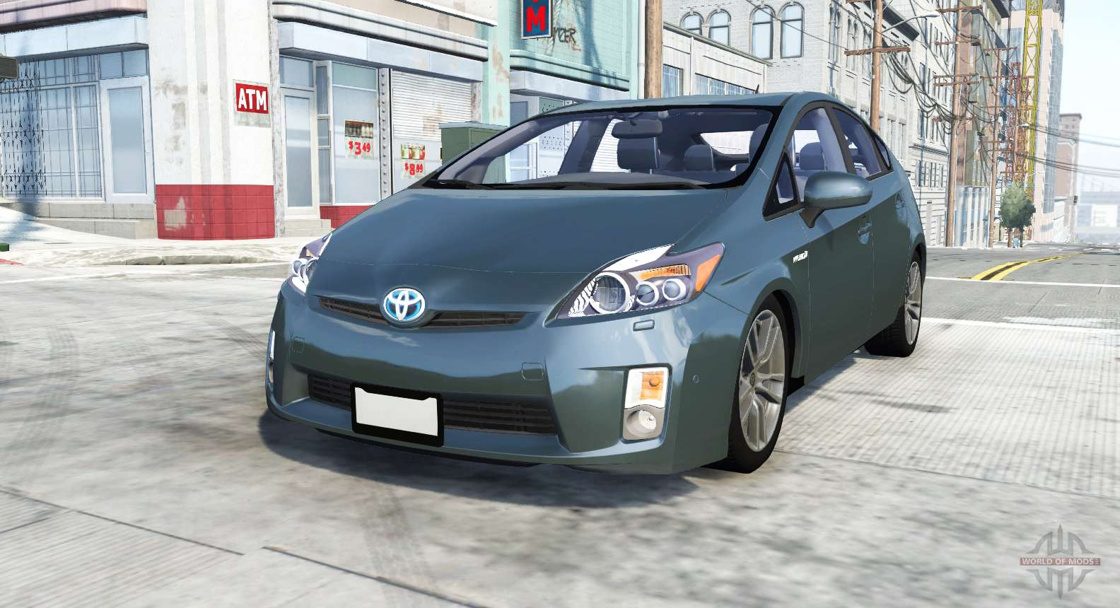 Toyota Prius Xw30 2009 For Beamng Drive