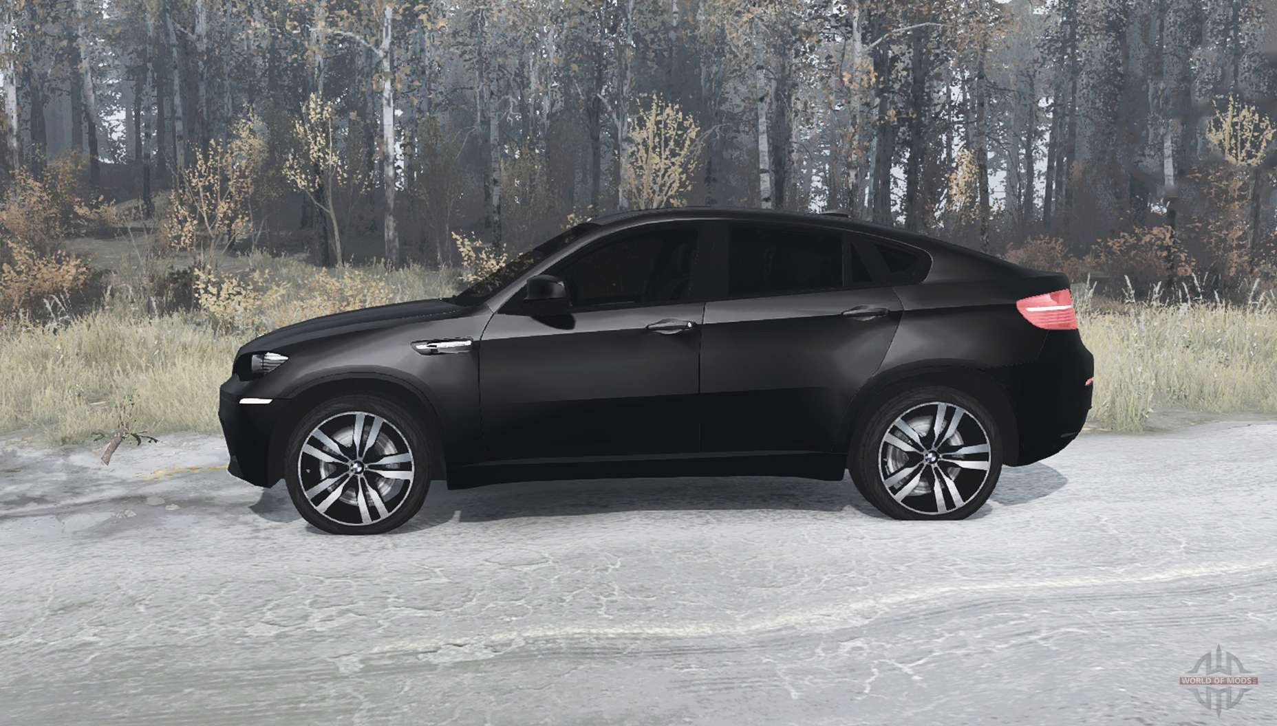 bmw x6 m for mudrunner. Black Bedroom Furniture Sets. Home Design Ideas