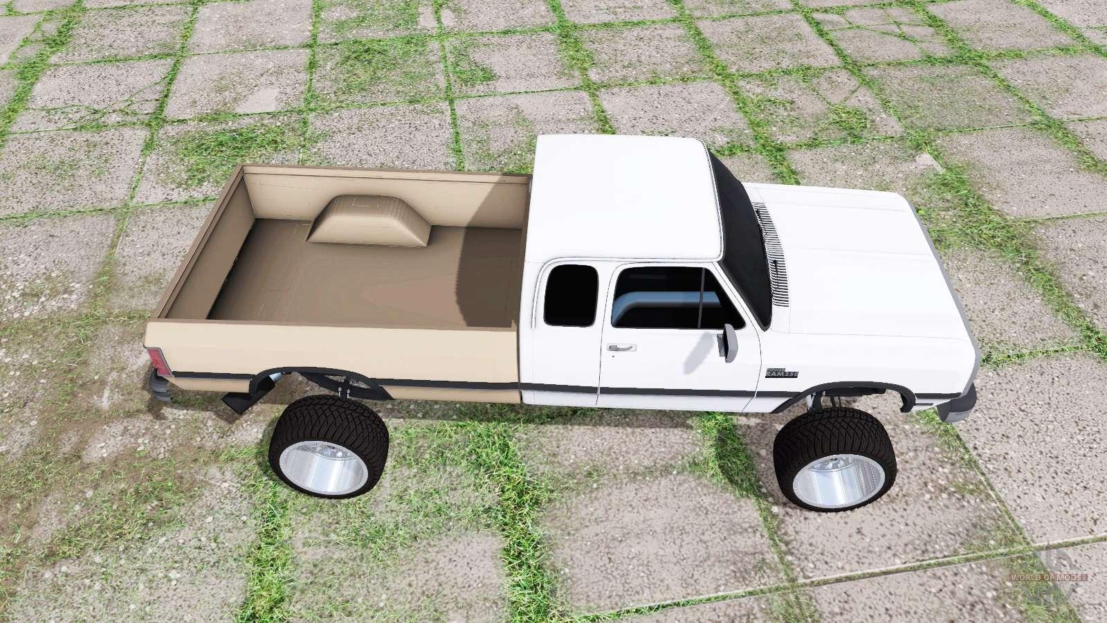 Dodge Ram D250 Club Cab 1991 for Farming Simulator 2017