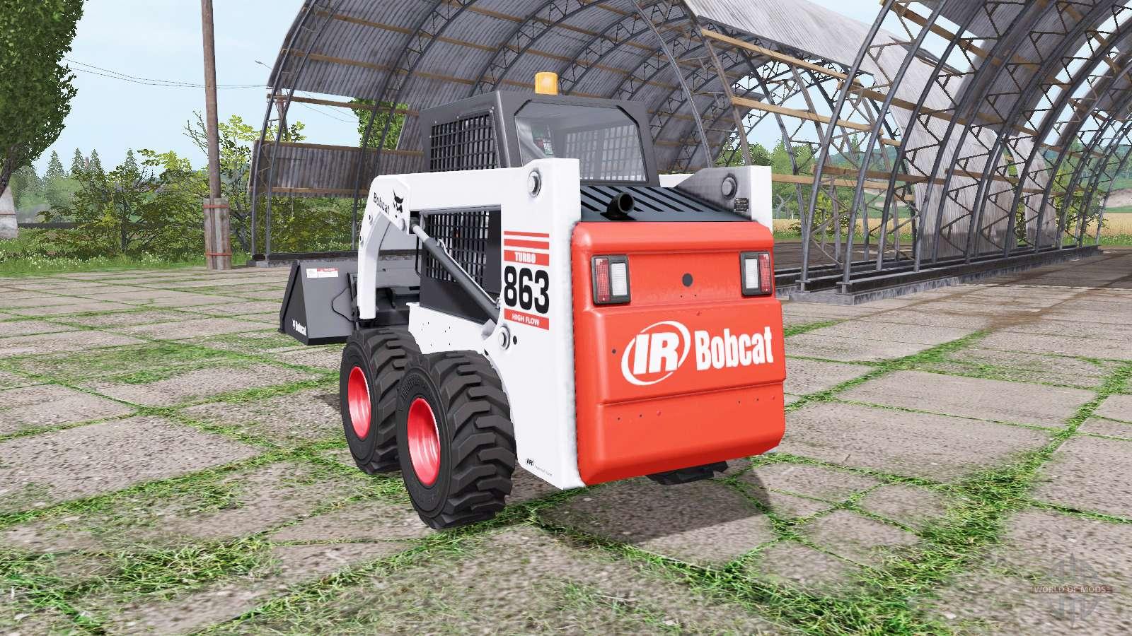 Bobcat 863 Turbo for Farming Simulator 2017