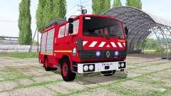 Renault G230 Sapeurs-Pompiers Camiva for Farming Simulator 2017