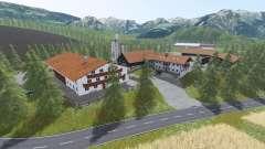 Alpine valley for Farming Simulator 2017