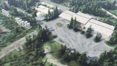 Abandoned military base v1.1 for Spin Tires