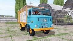 IFA W50 L cattle transport for Farming Simulator 2017