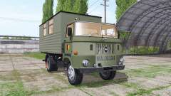 IFA W50 L leutewagen for Farming Simulator 2017