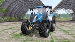 New Holland T6.160 v1.1.2 for Farming Simulator 2017
