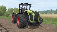 CLAAS Xerion 4000 Trac VC v1.1 for Farming Simulator 2017