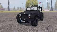 Jeep Wrangler (JK) v2.2 for Farming Simulator 2013