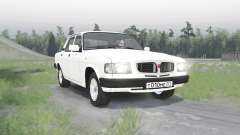 GAZ 3110 Volga v1.1 for Spin Tires