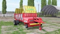 POTTINGER EUROBOSS 330 T twin tires for Farming Simulator 2017