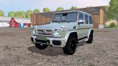 Mercedes-Benz G 65 AMG (W463) for Farming Simulator 2015