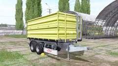 Fliegl TDK 255 light green for Farming Simulator 2017