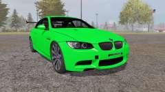 BMW M3 coupe (E92) 2007 for Farming Simulator 2013