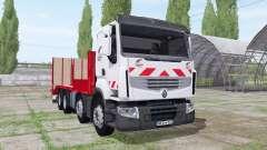 Renault Premium Tieflader Rampen for Farming Simulator 2017