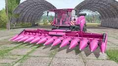 New Holland CR10.90 pink for Farming Simulator 2017